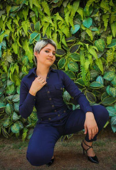 Macacão Koa Azul